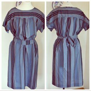 🆕Handmade Vintage Striped Dress O/S